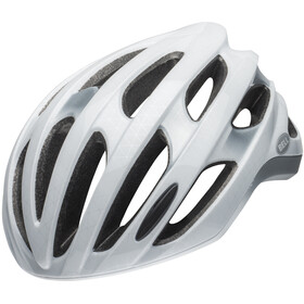 Bell Formula Led MIPS Kask rowerowy, slice white/silver/black